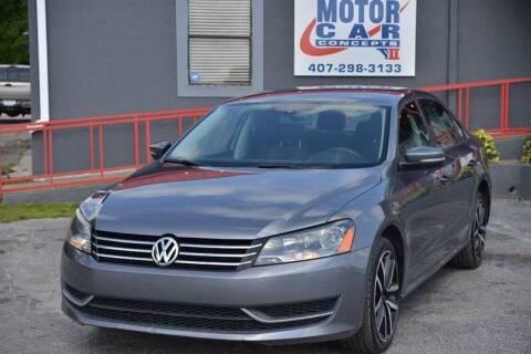 2014 Volkswagen Passat for sale at Motor Car Concepts II - Kirkman Location in Orlando FL