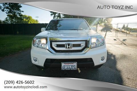 2011 Honda Pilot for sale at Auto Toyz Inc in Lodi CA