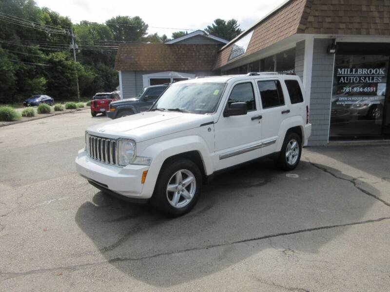 2010 Jeep Liberty for sale at Millbrook Auto Sales in Duxbury MA