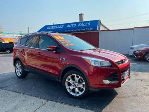 2016 Ford Escape for sale at Gonzalez Auto Sales in Joliet IL