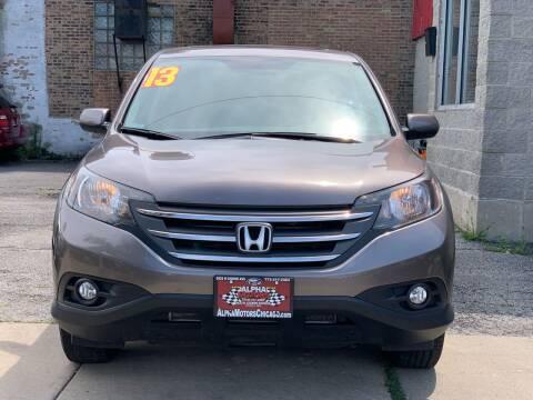 2013 Honda CR-V for sale at Alpha Motors in Chicago IL