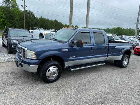 2005 Ford F-350 Super Duty for sale at Billy Ballew Motorsports in Dawsonville GA