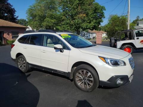 2017 Subaru Outback for sale at R C Motors in Lunenburg MA