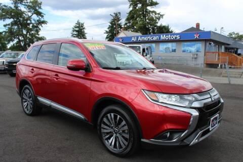2019 Mitsubishi Outlander for sale at All American Motors in Tacoma WA