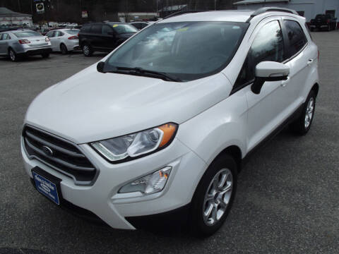 2019 Ford EcoSport for sale at Ripley & Fletcher Pre-Owned Sales & Service in Farmington ME