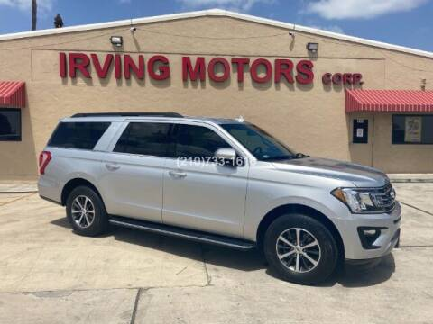 2018 Ford Expedition MAX for sale at Irving Motors Corp in San Antonio TX