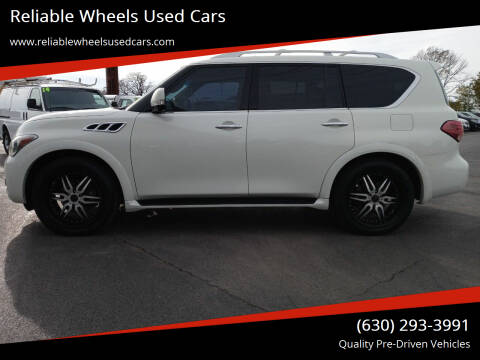 2012 Infiniti QX56 for sale at Reliable Wheels Used Cars in West Chicago IL
