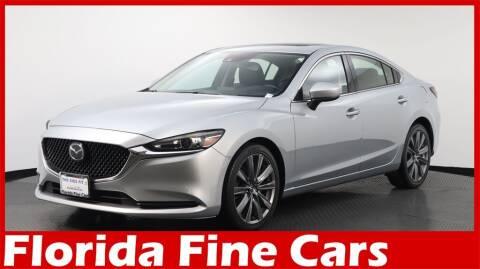2018 Mazda MAZDA6 for sale at Florida Fine Cars - West Palm Beach in West Palm Beach FL