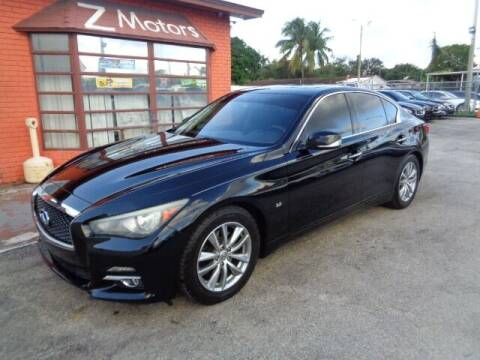 2014 Infiniti Q50 for sale at Z MOTORS INC in Hollywood FL