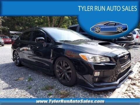 2016 Subaru WRX for sale at Tyler Run Auto Sales in York PA