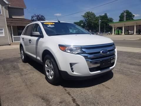2014 Ford Edge for sale at BELLEFONTAINE MOTOR SALES in Bellefontaine OH
