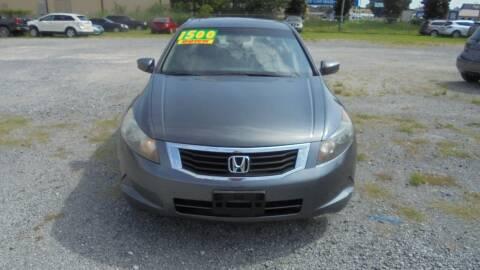 2009 Honda Accord for sale at Auto Mart - Moncks Corner in Moncks Corner SC