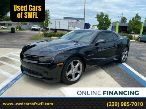 2014 Chevrolet Camaro for sale at Used Cars of SWFL in Fort Myers FL