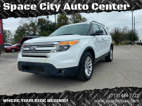 2015 Ford Explorer for sale at Space City Auto Center in Houston TX