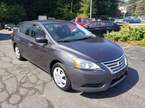 2014 Nissan Sentra for sale at Plymouthe Motors in Leominster MA