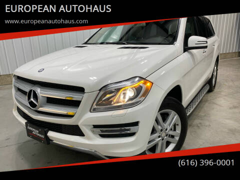 2014 Mercedes-Benz GL-Class for sale at EUROPEAN AUTOHAUS in Holland MI