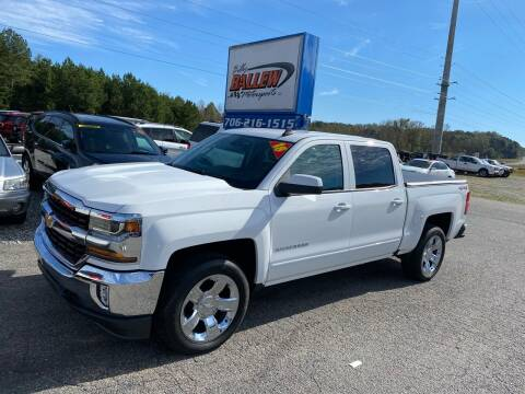 2018 Chevrolet Silverado 1500 for sale at Billy Ballew Motorsports in Dawsonville GA