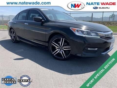 2017 Honda Accord for sale at NATE WADE SUBARU in Salt Lake City UT