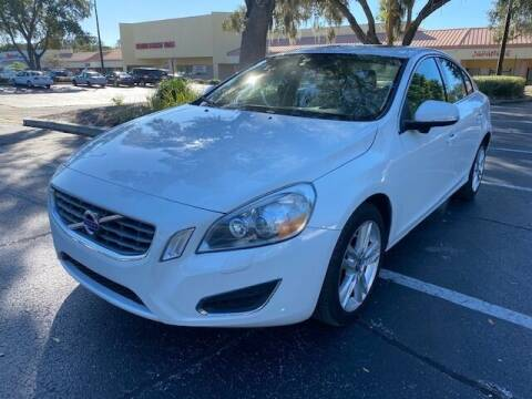 2013 Volvo S60 for sale at Florida Prestige Collection in St Petersburg FL