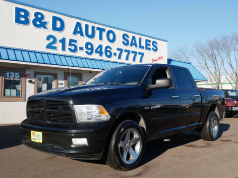 2009 Dodge Ram Pickup 1500 for sale at B & D Auto Sales Inc. in Fairless Hills PA