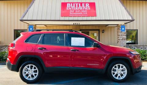 2015 Jeep Cherokee for sale at Butler Enterprises in Savannah GA