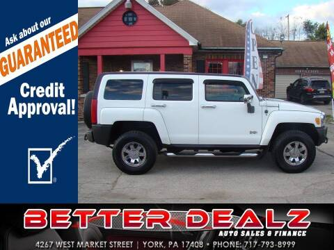 2006 HUMMER H3 for sale at Better Dealz Auto Sales & Finance in York PA