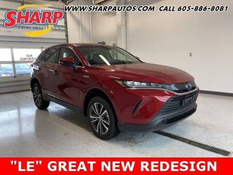 2021 Toyota Venza for sale at Sharp Automotive in Watertown SD