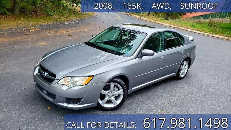 2008 Subaru Legacy for sale at Wheeler Dealer Inc. in Acton MA