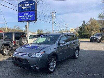 2015 Mitsubishi Outlander for sale at Mill Street Motors in Worcester MA