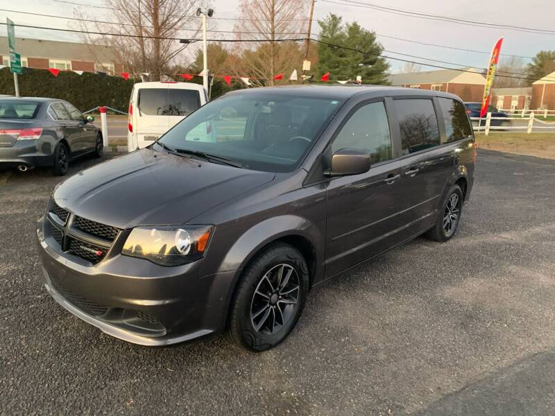 2017 Dodge Grand Caravan for sale at Lux Car Sales in South Easton MA