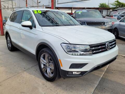 2020 Volkswagen Tiguan for sale at LIBERTY AUTOLAND INC in Jamaica NY