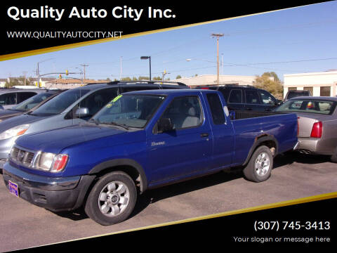 1998 Nissan Frontier for sale at Quality Auto City Inc. in Laramie WY
