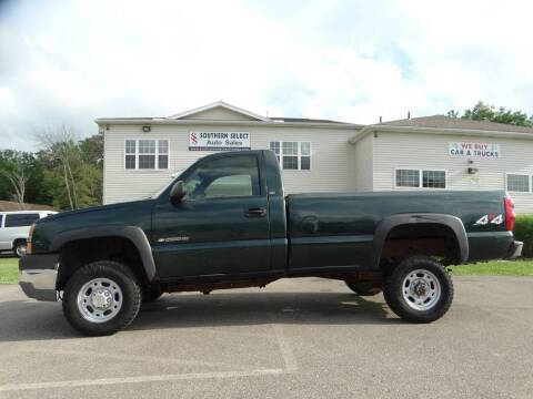 2003 Chevrolet Silverado 2500HD for sale at SOUTHERN SELECT AUTO SALES in Medina OH