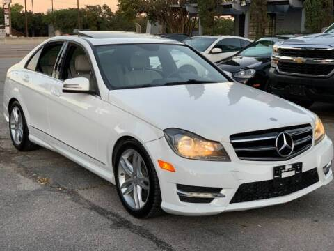 2014 Mercedes-Benz C-Class for sale at AWESOME CARS LLC in Austin TX