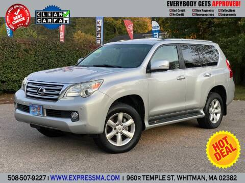 2011 Lexus GX 460 for sale at Auto Sales Express in Whitman MA
