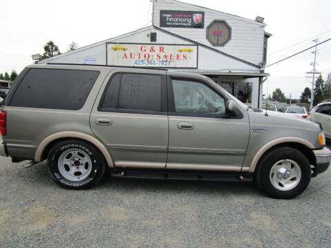 1999 Ford Expedition for sale at G&R Auto Sales in Lynnwood WA