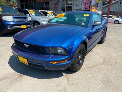 2007 Ford Mustang for sale at ALL CREDIT AUTO SALES in San Jose CA