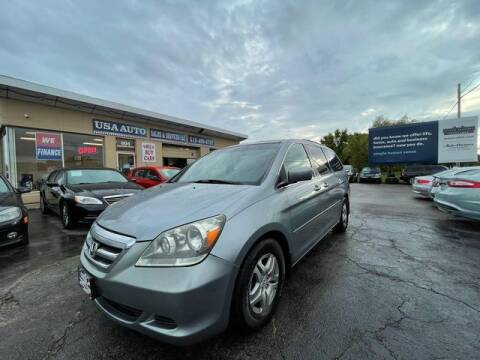 2007 Honda Odyssey for sale at USA Auto Sales & Services, LLC in Mason OH