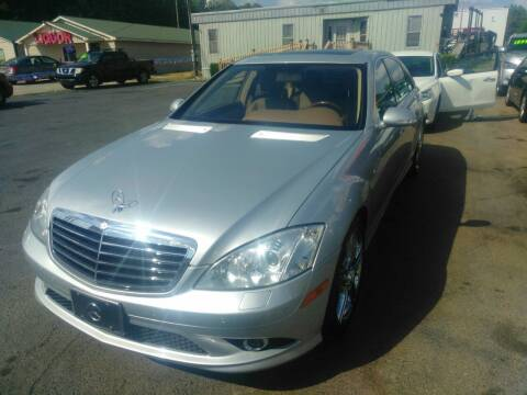 2008 Mercedes-Benz S-Class for sale at AUTOPLEX 528 LLC in Huntsville AL