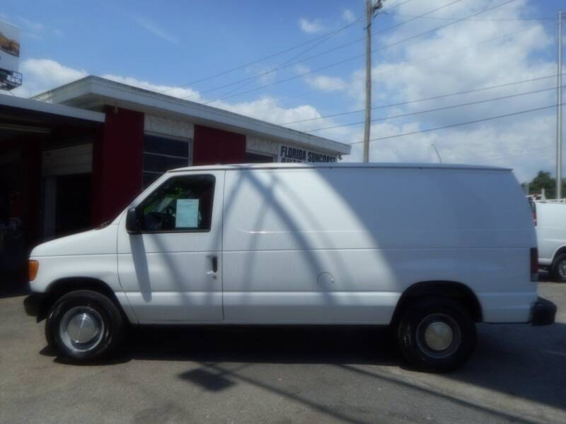 2006 Ford E-Series Cargo for sale at Florida Suncoast Auto Brokers in Palm Harbor FL