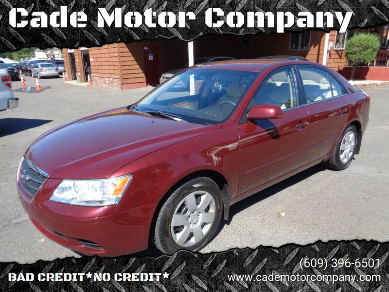 2009 Hyundai Sonata for sale at Cade Motor Company in Lawrenceville NJ