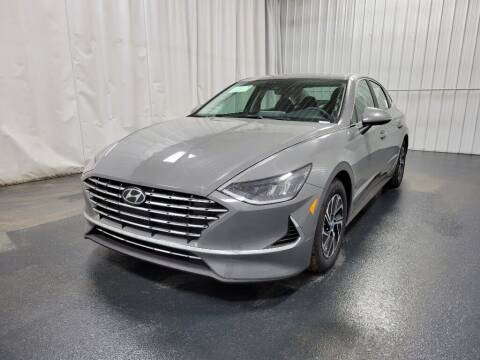 2021 Hyundai Sonata Hybrid for sale at Elhart Automotive Campus in Holland MI