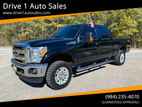 2016 Ford F-250 Super Duty for sale at Drive 1 Auto Sales in Wake Forest NC