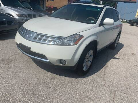 2007 Nissan Murano for sale at STL Automotive Group in O'Fallon MO