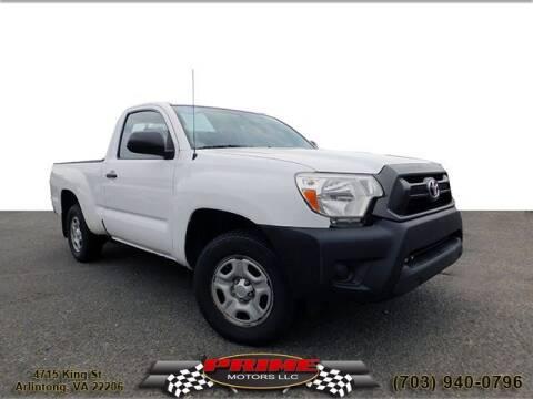 2014 Toyota Tacoma for sale at PRIME MOTORS LLC in Arlington VA