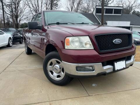 2005 Ford F-150 for sale at Alpha Car Land LLC in Snellville GA