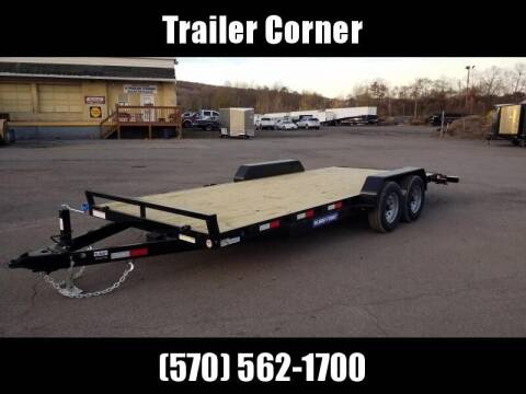 2021 Sure-Trac 7X20 10K WOOD DECK CAR HAULER