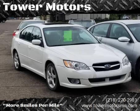 2008 Subaru Legacy for sale at Tower Motors in Brainerd MN