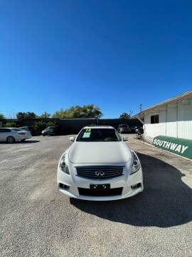 2012 Infiniti G37 Sedan for sale at SOUTHWAY MOTORS in Houston TX