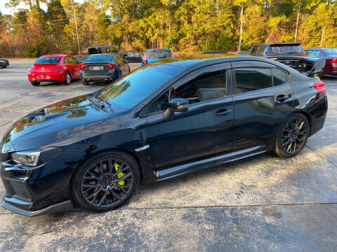 2019 Subaru WRX for sale at TOP OF THE LINE AUTO SALES in Fayetteville NC